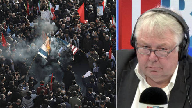 This caller told Nick Ferrari about the atmosphere in Tehran