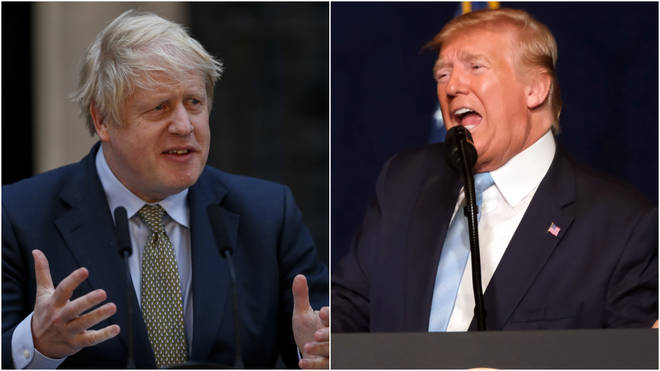 Boris Johnson was not informed in advance of Mr Trump's plans to attack the Iranian general