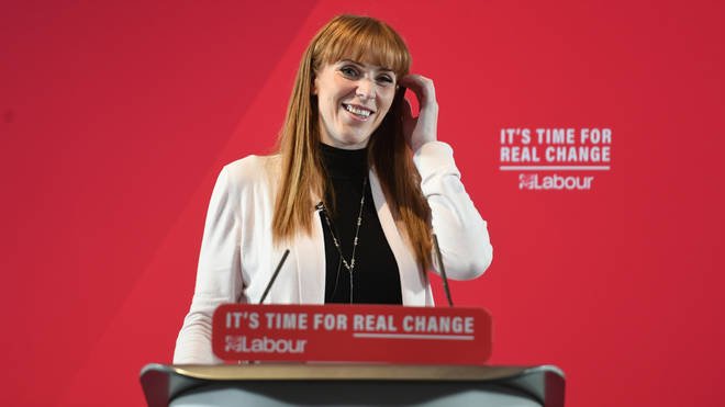 Angela Rayner has announced her bid to become deputy leader