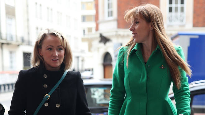 Rebecca Long-Bailey and Angela Rayner are political allies