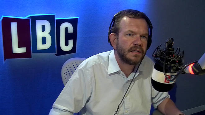James O'Brien discussed The Sun's Brexit stockpiling story