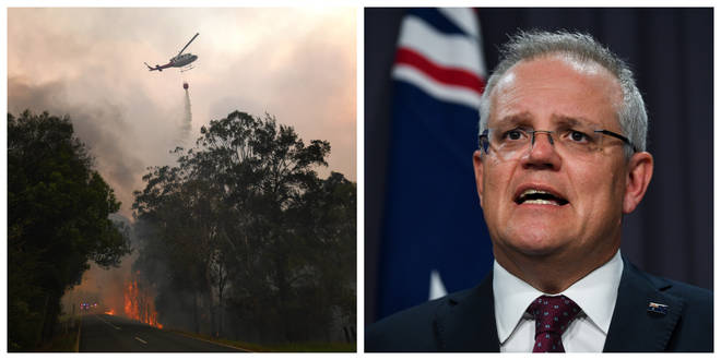 Scott Morrison has committed more money to fighting the fires