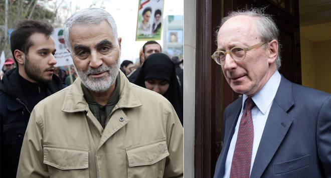 Sir Malcolm Rifkind said the US had to send a signal over General Soleimani