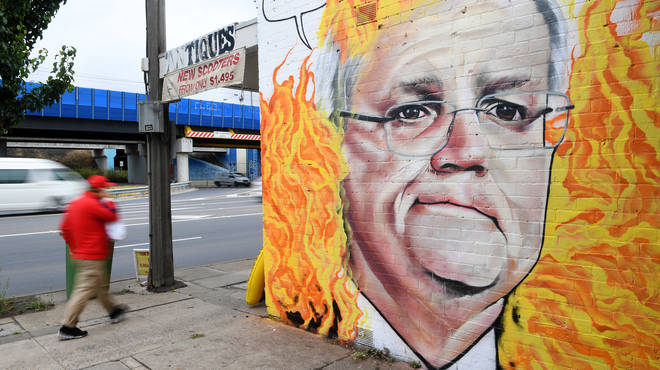 Scott Morrison has been fiercely criticised for his response to the fires