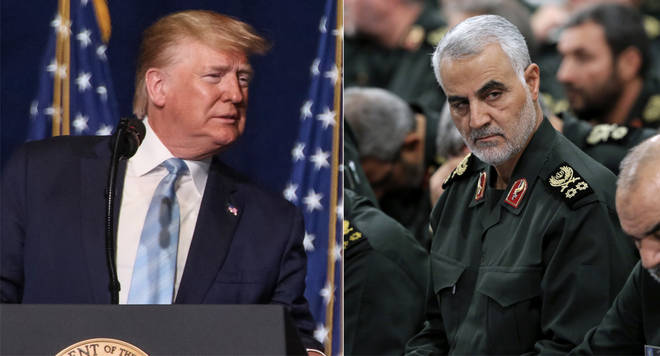 "Trump&squot;s actions in Iran are ""an act of war"", a writer told LBC"