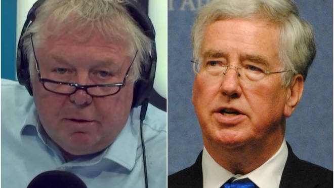 Nick Ferrari grilled Sir Michael Fallon on the government's immigration plans
