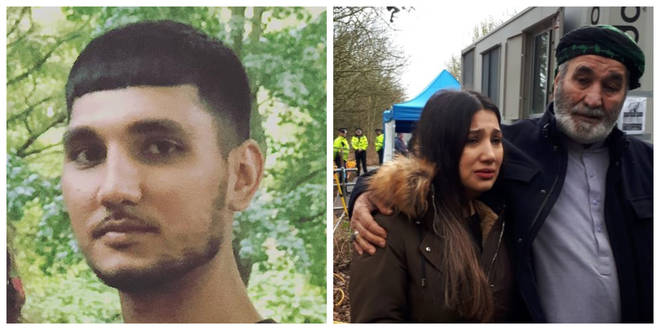 Mohammed Shah Subhani (left) was killed in May - sister Quirat (right) has issued an emotional appeal for information