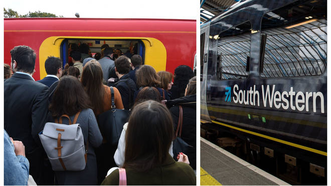 Commuters were hit by strikes during December