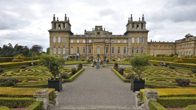 Blenheim Palace, where Trump will dine with the Prime Minister
