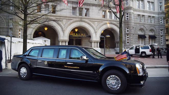 The Beast, Donald Trump's limousine