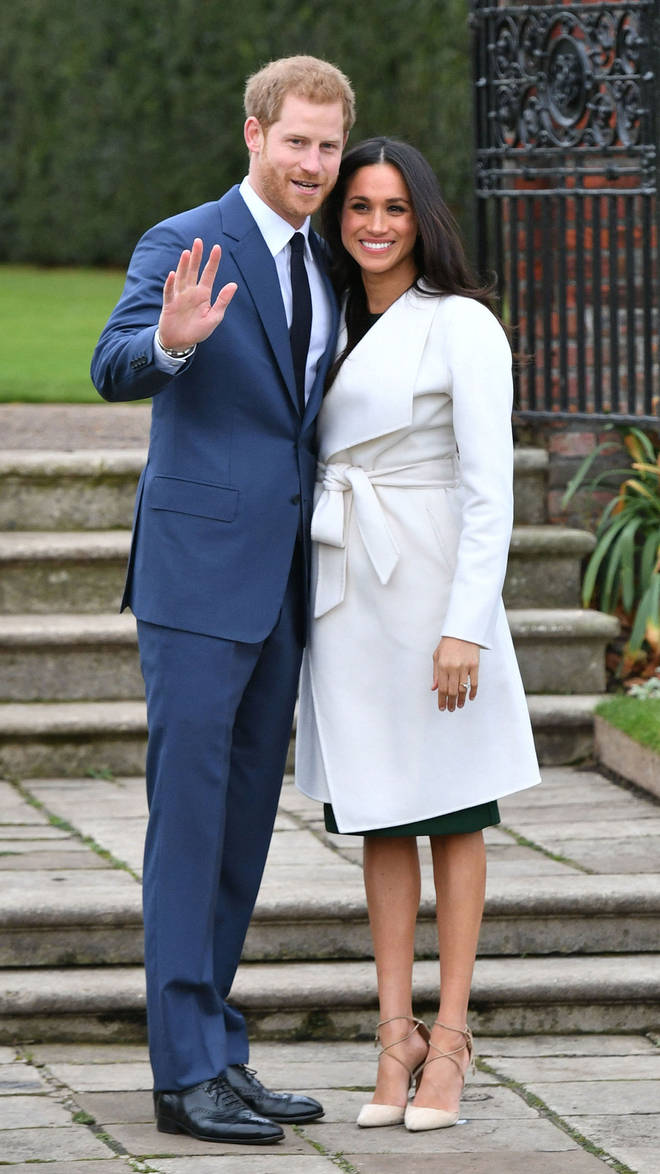 Harry and Meghan announced their engagement at Kensington Palace