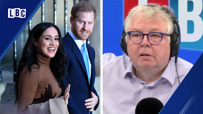 Nick Ferrari explained why Harry and Meghan can't be financially independent