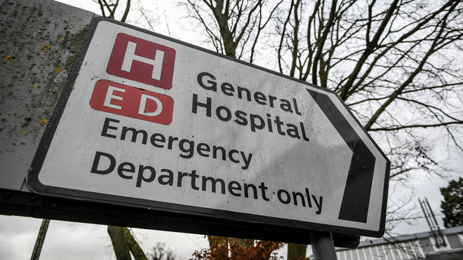 A&E units failed to hit their targets in December