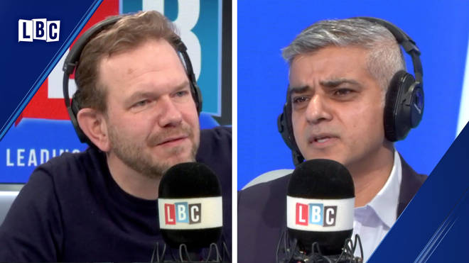 James O'Brien pressed Sadiq Khan to say who he backs for Labour leader