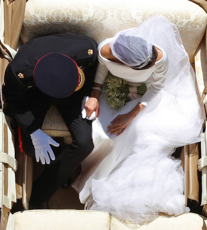 Harry and Meghan were married in May 2018