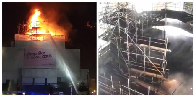 KOKO in Camden Town caught fire on Monday