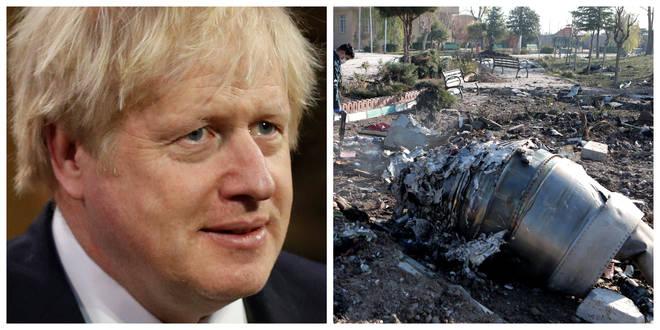 Boris Johnson has spoken to the Ukrainian president