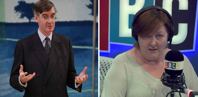 Jacob Rees-Mogg Shelagh Fogarty
