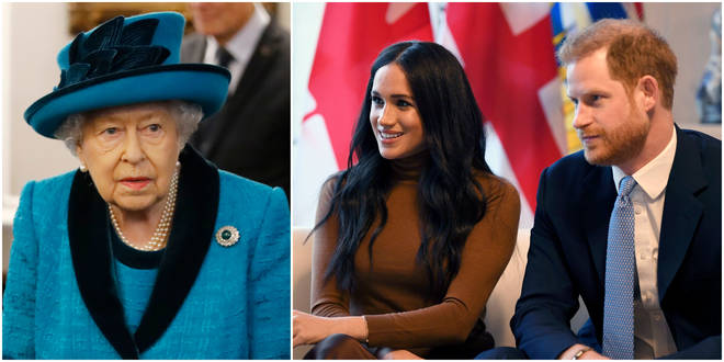 The Queen has ordered a solution be found to the Sussexes quitting royal life 'within days'