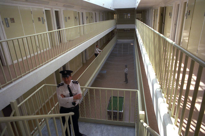 General interior shot at HMP Whitemoor near March, Cambridgeshire.