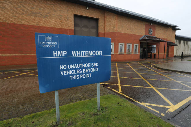 HMP Whitemoor, a maximum security prison for men in Category A and B.