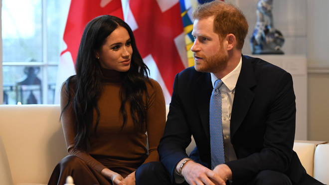 Meghan Markle and Prince Harry said they want to 'step back' as senior royals