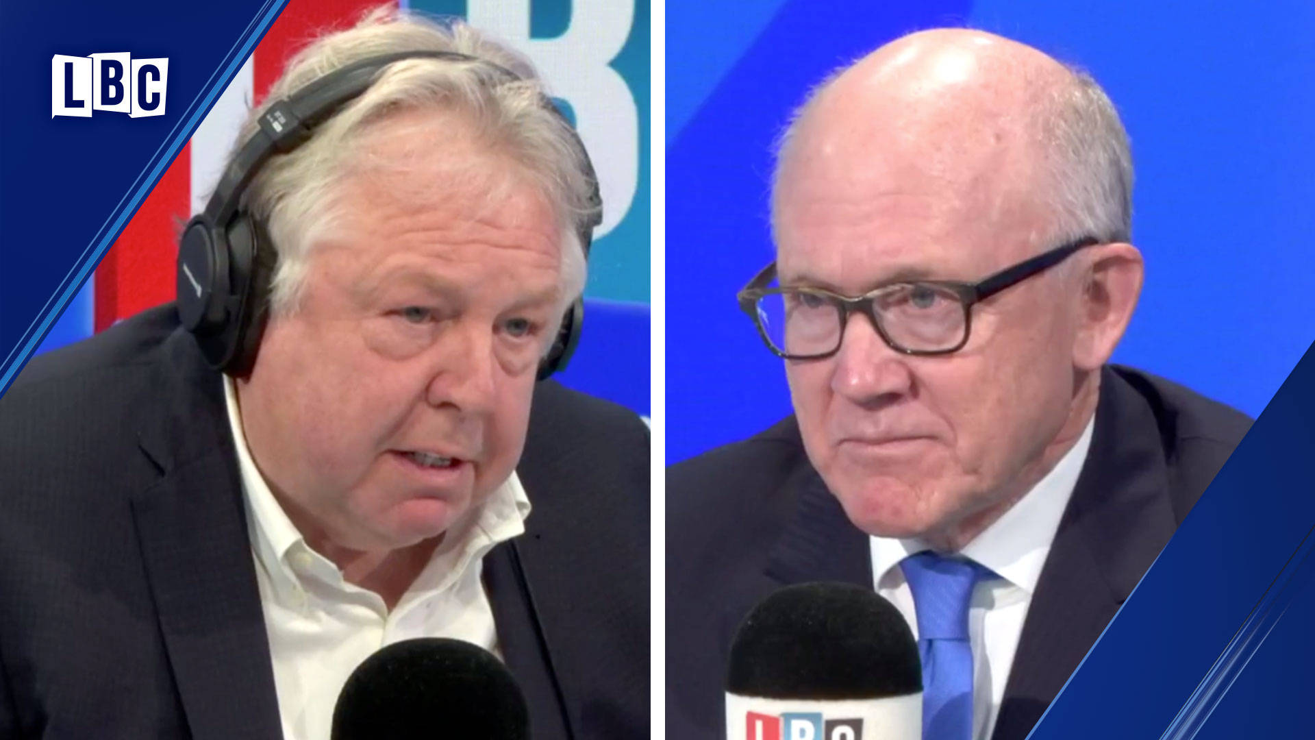 Nick Ferrari presses US Ambassador over his claims President Trump wants peace in Iran