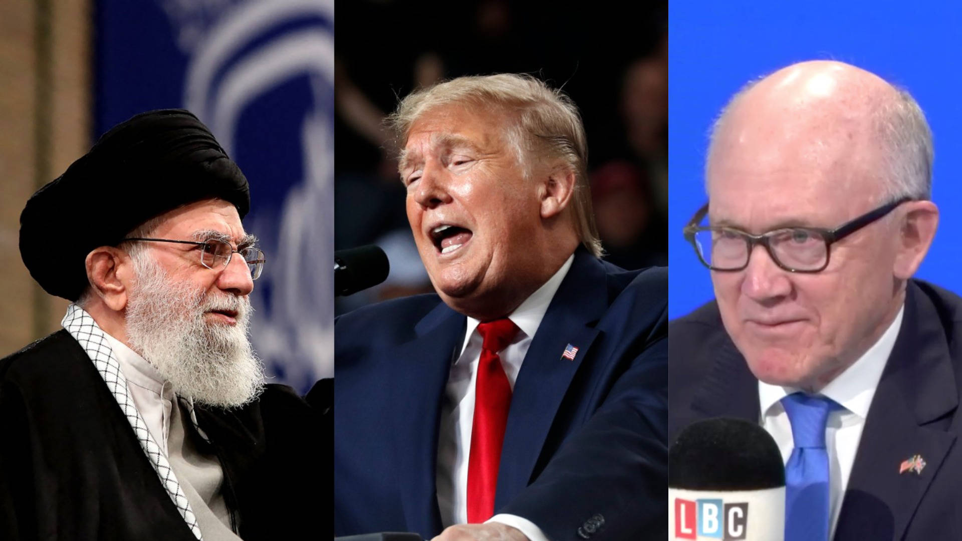 US Ambassador Woody Johnson tells LBC Iran should 'pick up phone' for US peace talks