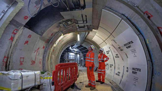 Part of the new Crossrail transport system will open next summer