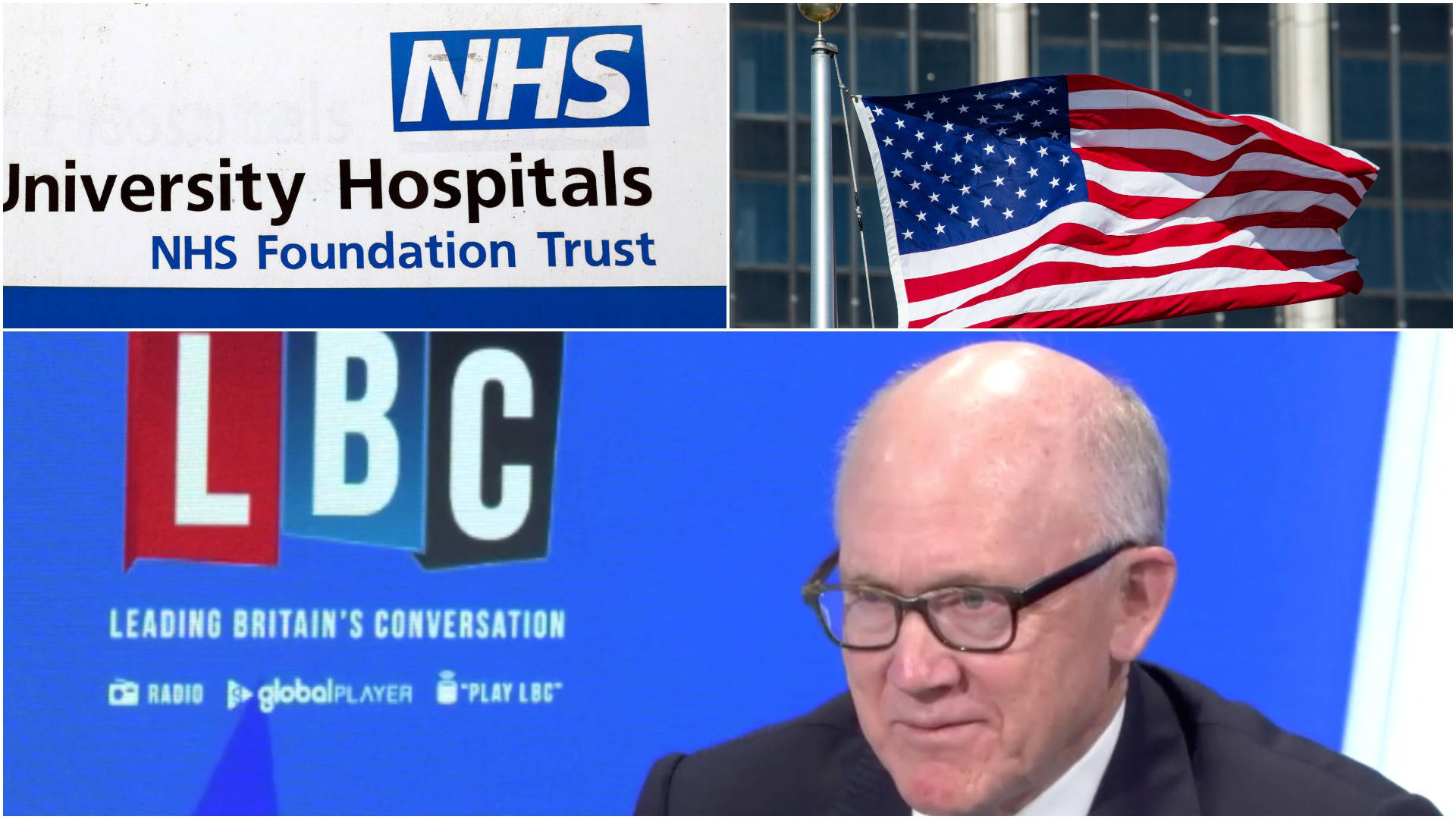 'No, no, and double no' US Ambassador denies America interested in buying NHS