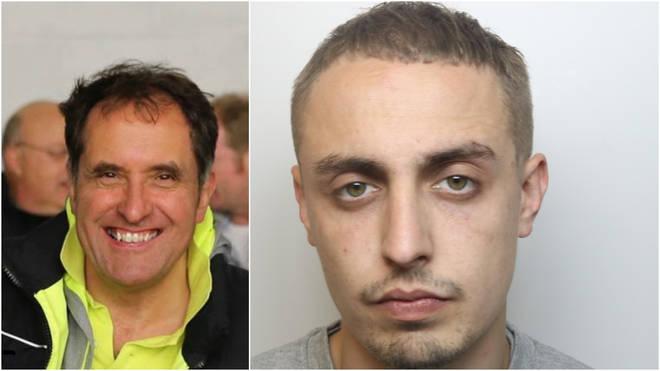 Tarkan Agca (R) was sentenced for the manslaughter of ex-Royal Marines sergeant major Andrej Szaruta (L)