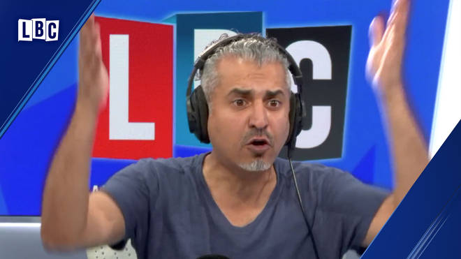 Maajid Nawaz had a brilliant response to the caller