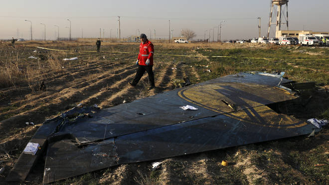 The shooting down of the airliner killed all 176 people on board