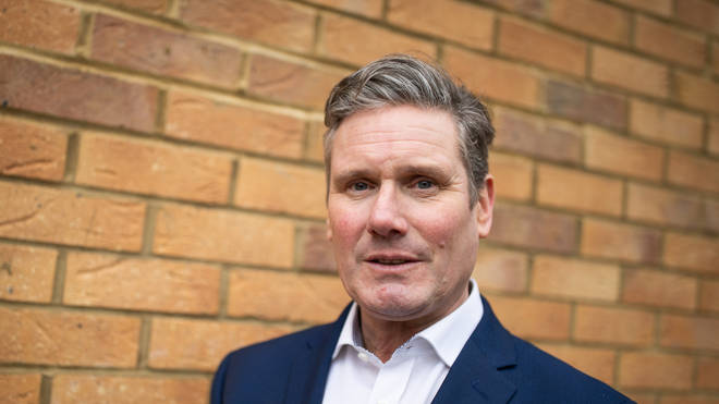Sir Keir Starmer claimed he will lead the fight against anti-Semitism in the Labour Party