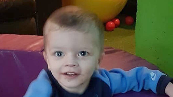 Two-year-old Keigan Ronnie O'Brien died from head injuries