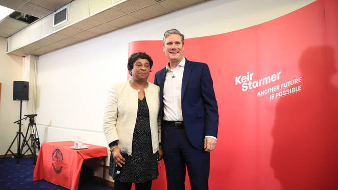 Sir Keir Starmer and Doreen Lawrence