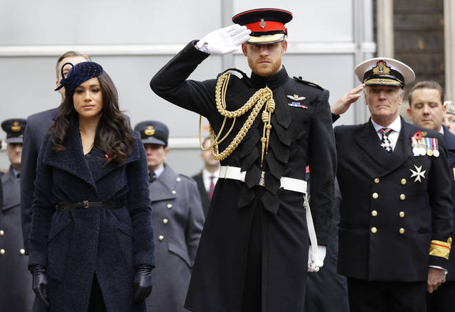 Royal Marine says Harry, as captain general of the Royal Marines, cannot be half in half out.