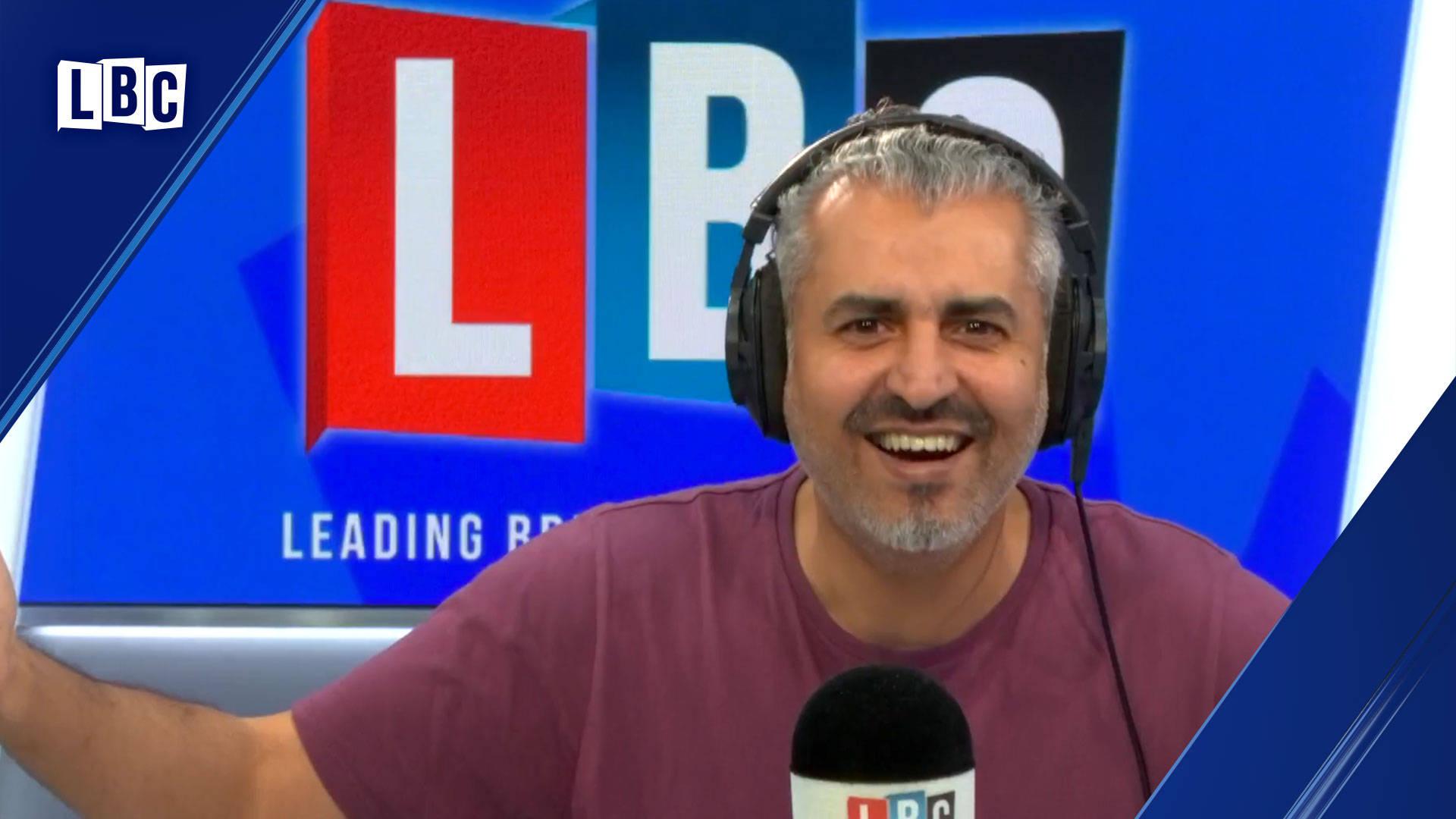 Maajid Nawaz takes down caller who said Hamas are not terrorists