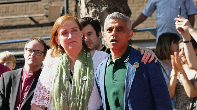 Mayor Sadiq Khan at the Notting Hill Carnival