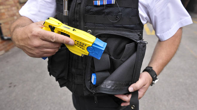 Police can start equipping more officers with Tasers from today