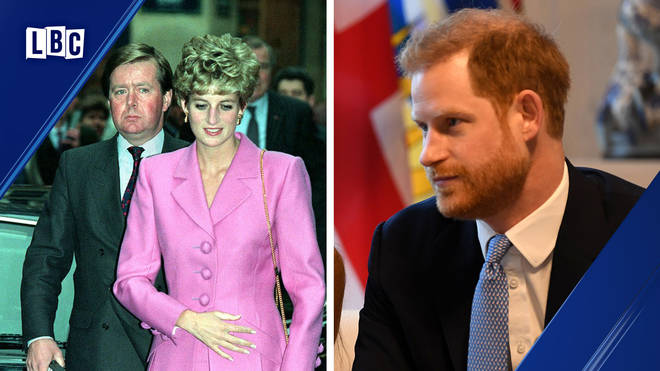 Prince Harry's former protection officer told a very telling story on LBC