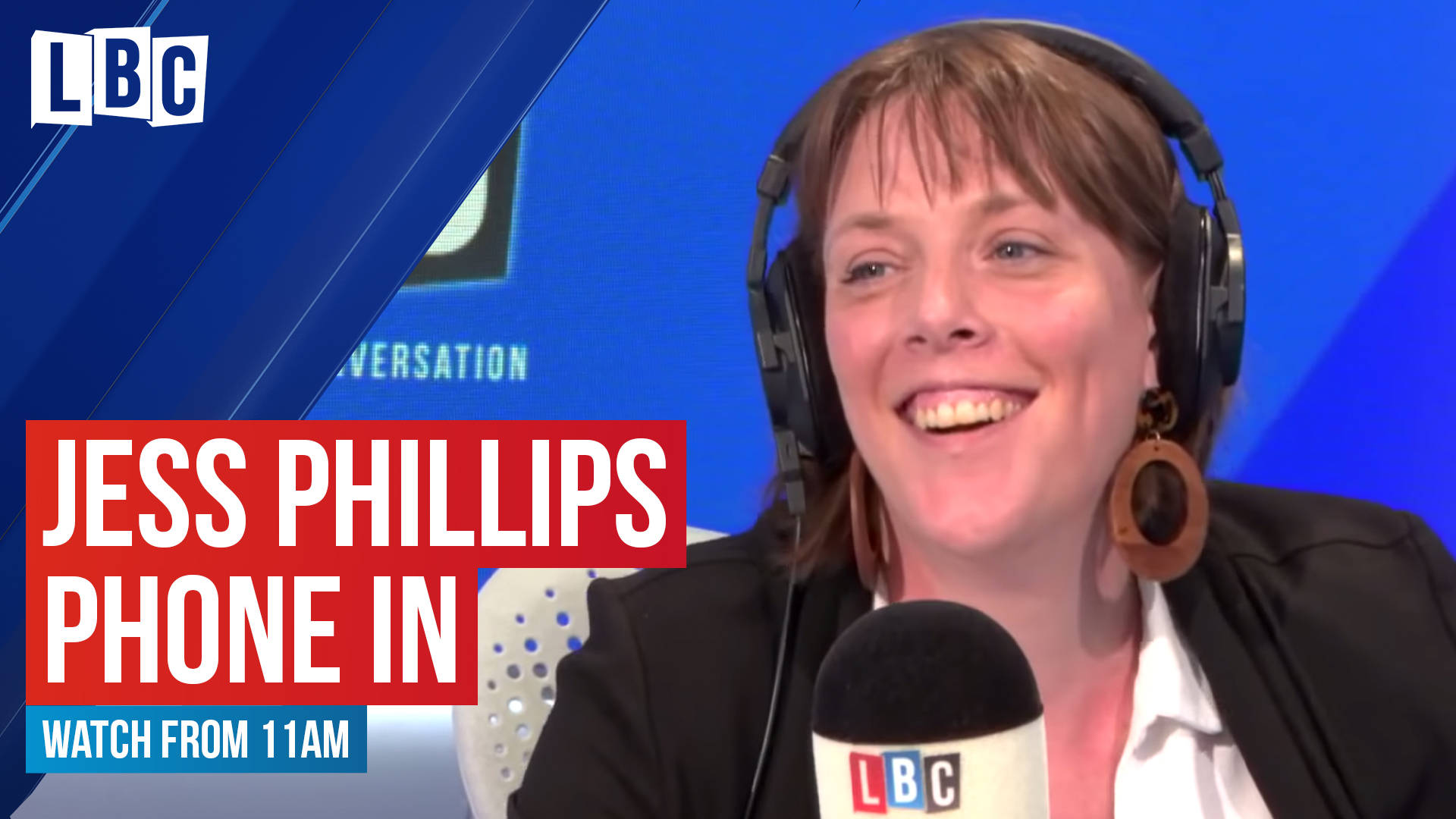 Labour leadership hopeful Jess Phillips grilled by LBC listeners: Watch from 11am