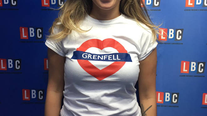 The charity t-shirt for Grenfell