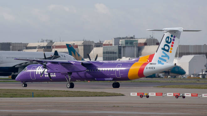 File photo: Flybe has held crisis talks with the Government over its future