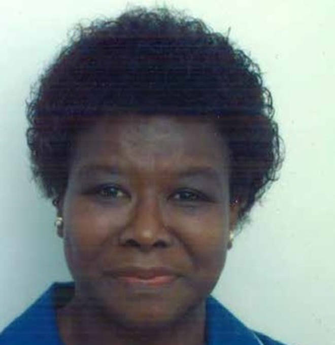Retired midwife Eulin Hastings, 74