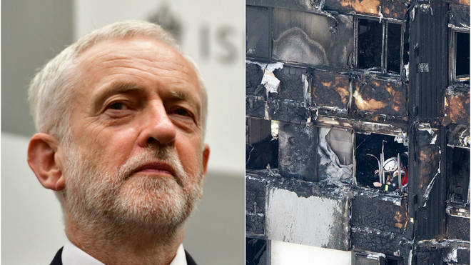 Jeremy Corbyn Says Local Cuts Led To Grenfell Tower Fire