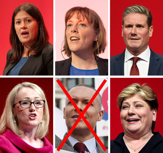 Five candidates remain to replace Jeremy Corbyn as Labour leader