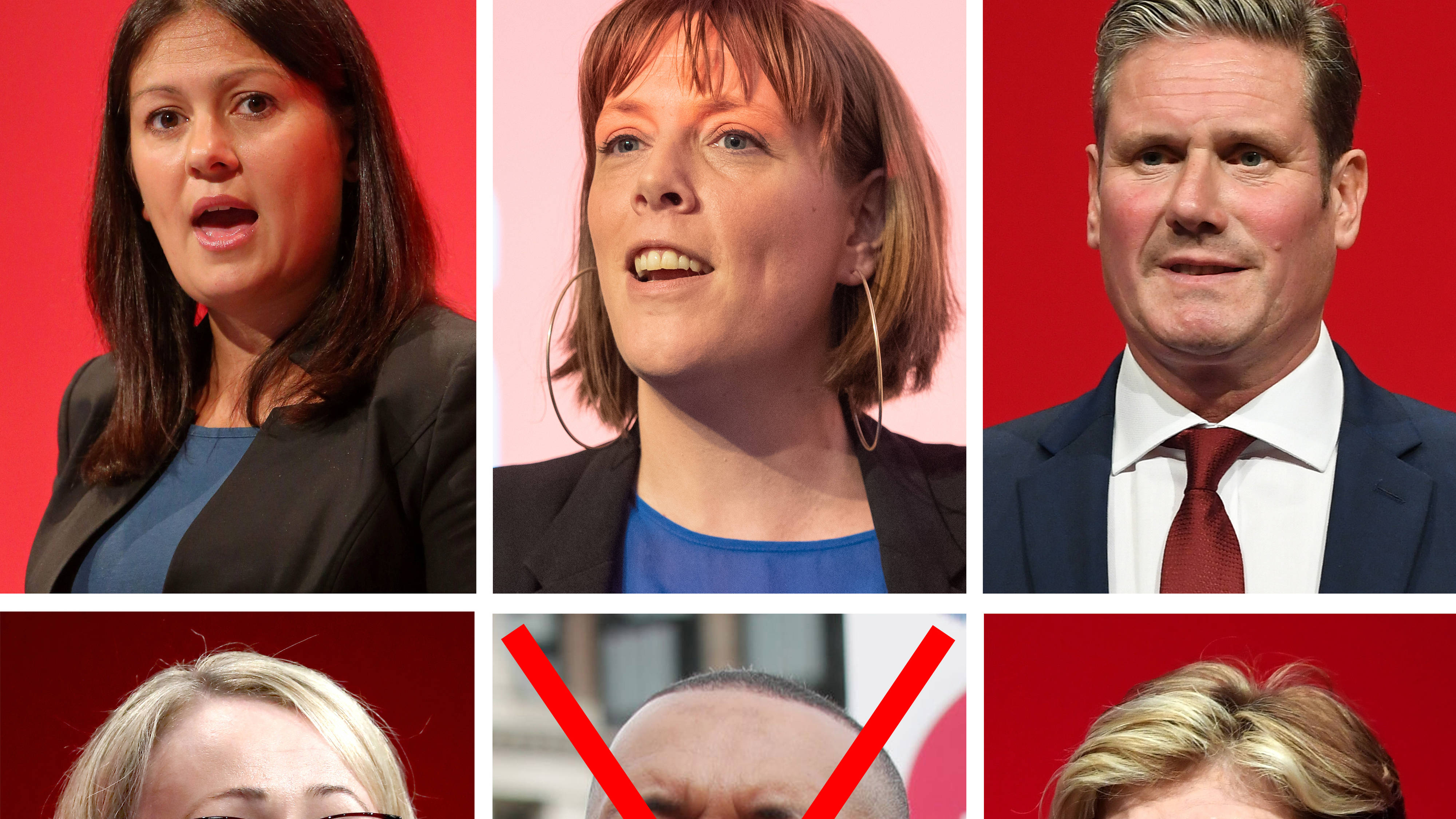 Five candidates will battle to succeed Jeremy Corbyn as Labour leader