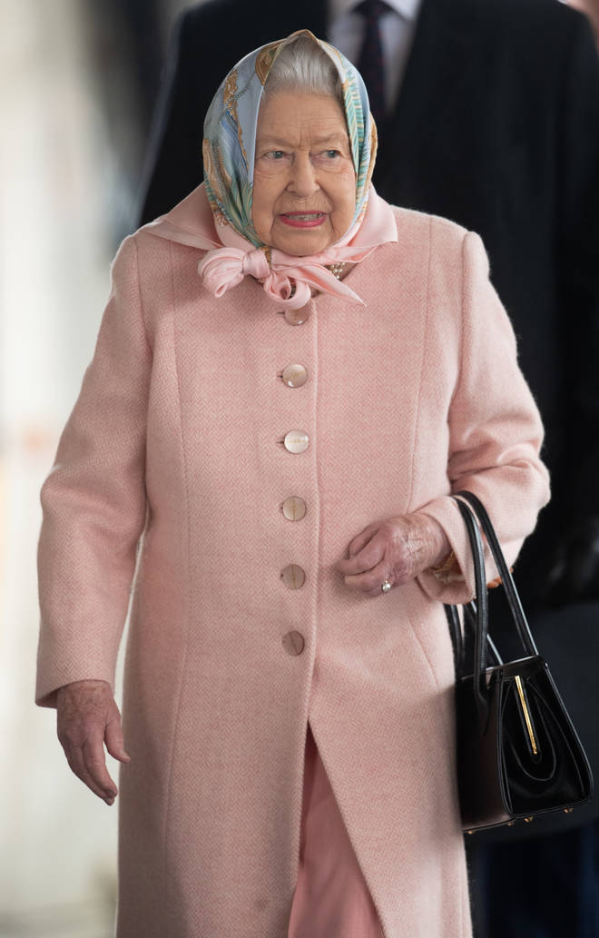 """The Queen said she was """"supportive"""" of the plans"""