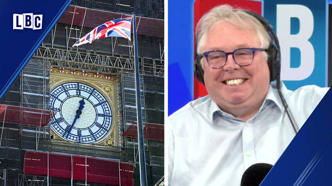 Nick Ferrari offers to crowdfund to get cash to get Big Ben bonging